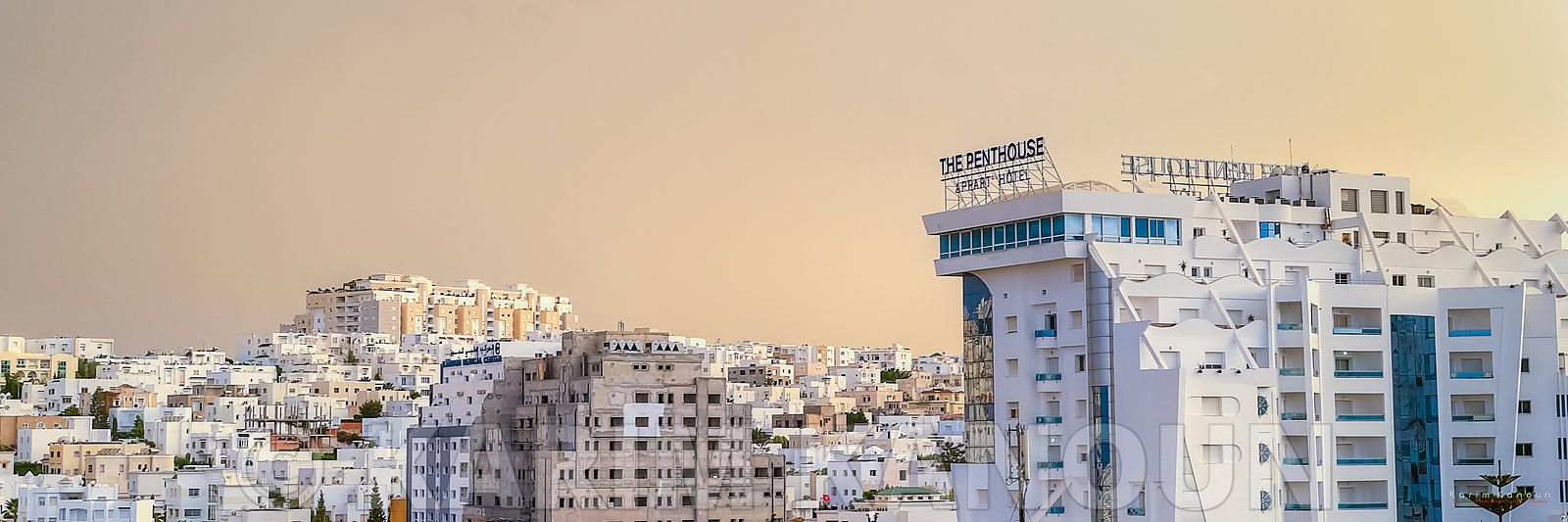 Panorama - Ennasr city view