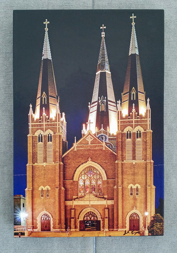 Holy Family Cathedral 16x24