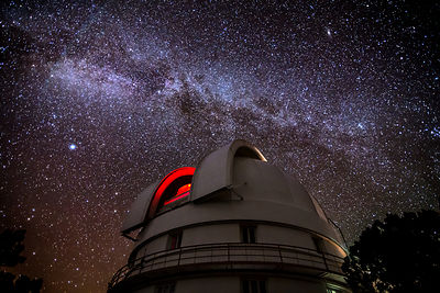 The McDonald Observatory and the Milky Way #3