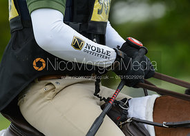 Simon Grieve and THE RUTMAN - Rockingham Castle International Horse Trials 2016