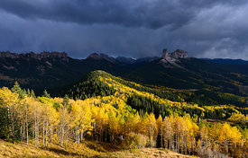 Sun and Storm | San Juan Mountains, CO