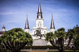 St. Louis Cathedral in New Orleans