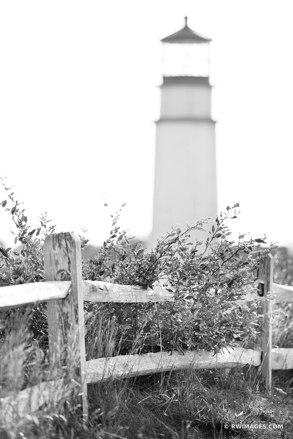 HIGHLAND LIGHTHOUSE NORTH TRURO CAPE COD BLACK AND WHITE VERTICAL
