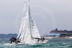 J/24 fleet, Southern Area Championships 2017, 20170527054