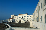 Cape Coast Castle, old gold and slave trading centre, Cape Coast, Ghana