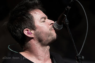 Pete Loeffler, vocals and guitar, Chevelle, Aftershock 2014