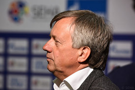 Michael WIEDERER during the Final Tournament - Final Four - SEHA - Gazprom league, Sponsorship press conference, Croatia, 02.04.2016, ..Mandatory Credit ©SEHA/Nebojša Tejić