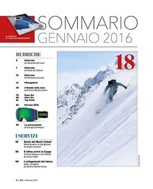 SCI magazine (Italie) - Voyage au Kirghizstan - Faction skis & Gear4Guides - 2015 - 10 pages