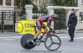 The Cyclist Danilo Wyss - Paris-Nice 2016
