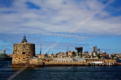 Fort Denison in Sydney Harbour