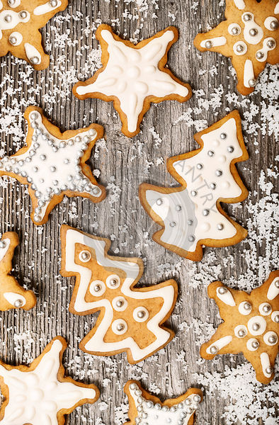 Gingerbread cookies pattern