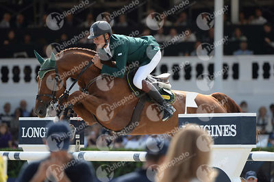 Jaroslaw SKRZYCZYNSKI ,(POL), CRAZY QUICK during Longines Cup of the City of Barcelona competition at CSIO5* Barcelona at Real Club de Polo, Barcelona - Spain