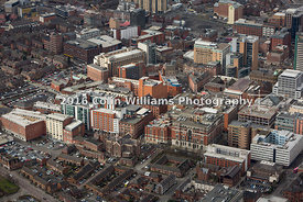 Aerial photograph - The Linen Quarter, Belfast