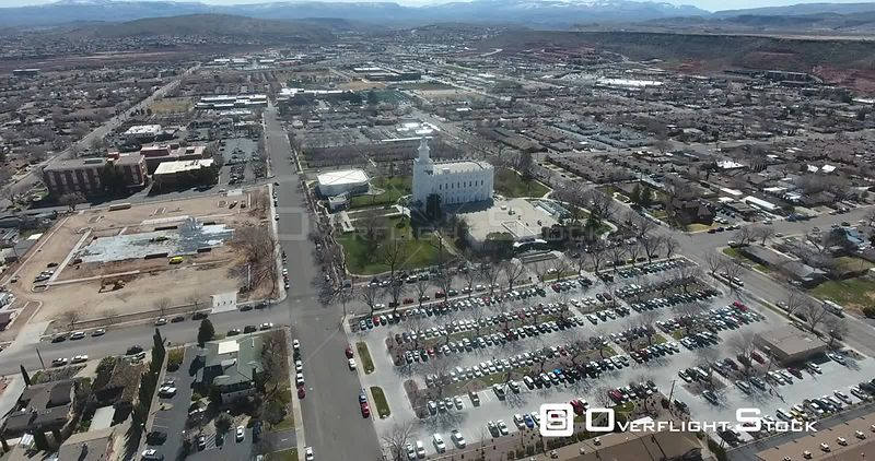 Drone Footage of St George Utah