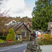 Town of Grasmere, The Lakes District National Park, England, United Kingdom