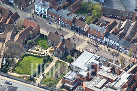 Aerial Photography Taken In and Around Stratford-upon-avon-Shakespeare's Birthplace
