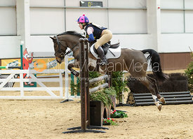 Heidi Coy and optimist II - BE100 Class - Baileys JAS National Championships 2014