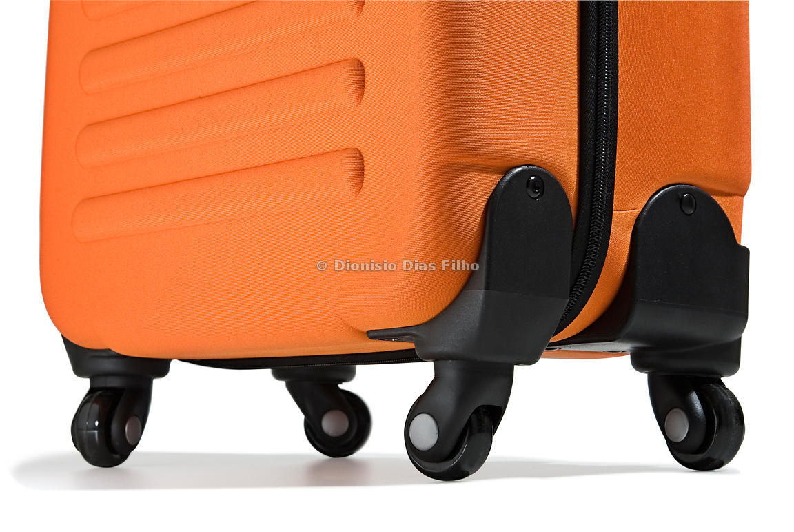 Suitcase with wheels / with path
