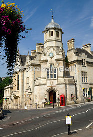 The Old Town Hall, Bradford on Avon, Wiltshire, England.