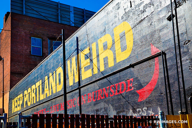 KEEP PORTLAND WEIRD PORTLAND OREGON COLOR