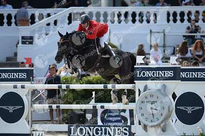 Alberto MICHAN HALBINGER ,(MEX), CARUSSO LS LA SILLA during Longines Cup of the City of Barcelona competition at CSIO5* Barcelona at Real Club de Polo, Barcelona - Spain