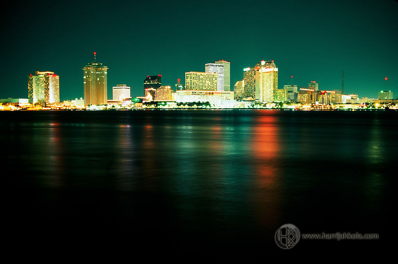USA - Louisiana - New Orleans (Cityscape by Night)