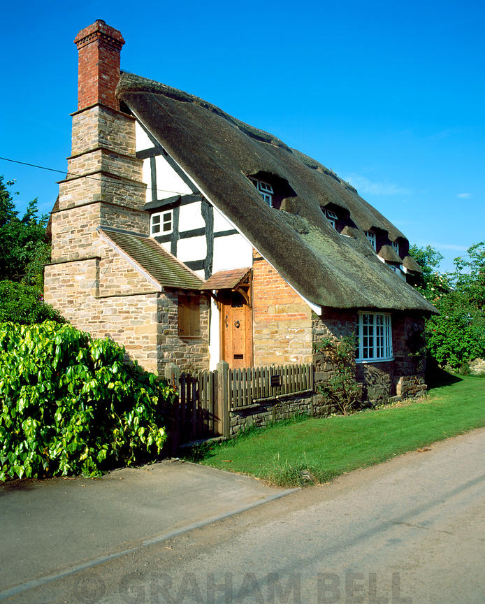 thatched cottage hampton bishop near hereford
