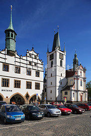 Old Town Hall, Mirove Square, Litomerice, Czech Republic