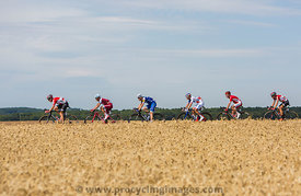 Group of Cyclists - Tour de France 2017
