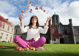 Postgrad Open Day promo..Photograph by Aengus McMahon. .......