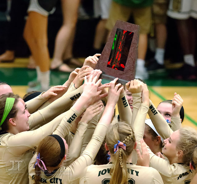 09/08/15 IAHSVB Iowa City West vs Iowa City High photos