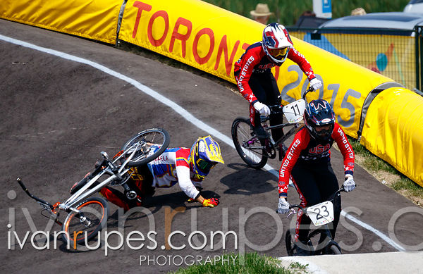 BMX, Toronto 2015 Pan Am Games, Centennial Park Pan Am BMX Centre, Etobicoke; July 10, 2015