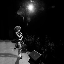 Reesa Renee performing at The Howard Theatre in DC