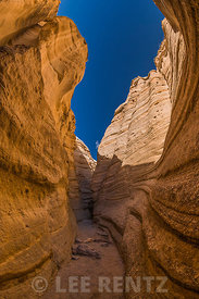 Slot Canyon at Kasha-Katuwe Tent Rocks National Monument