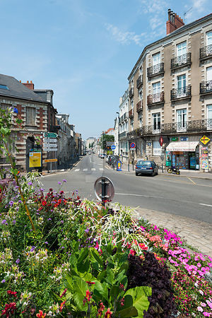 photo de quartier nantais