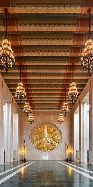 The Inside of the Hall of State