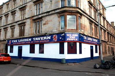 The Louden Tavern near the Ibrox Stadium, Glasgow