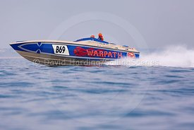 Warpath, B69, Fortitudo Poole Bay 100 Offshore Powerboat Race, June 2018, 20180610264