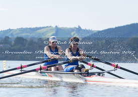 Taken during the World Masters Games - Rowing, Lake Karapiro, Cambridge, New Zealand; ©  Rob Bristow; Frame 509 - Taken on: Tuesday - 25/04/2017-  at 09:05.33