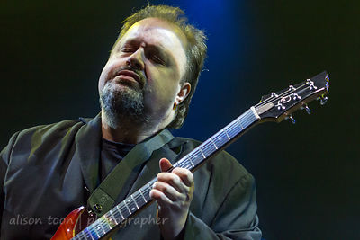 Steve Rothery, guitar, Steve Rothery Band, PZ, 2015