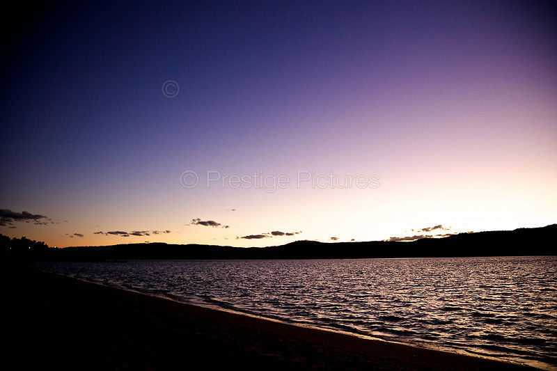 Sunset at Palm Beach NSW