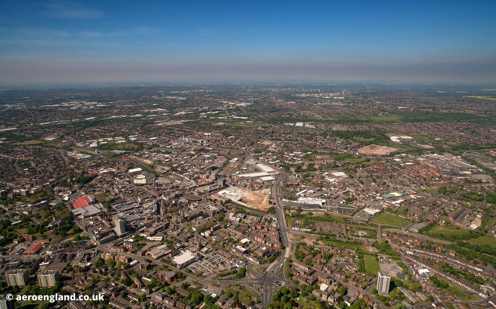 Walsall aerial photograph