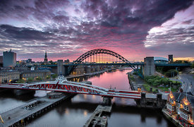 Sunrise on the Tyne (2)