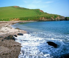 aymer cove near bigbury on sea south hams south devon south west england