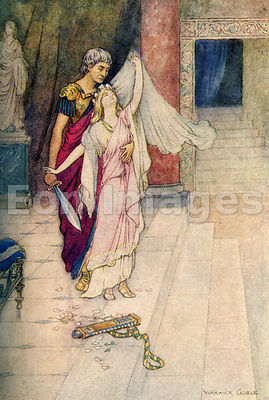 Virginius and Virginia by Warwick Goble