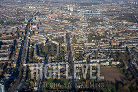 Aerial Photography Taken In and Around Islington-Barnsbury