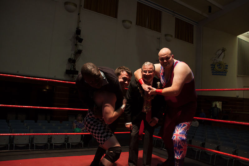 Worthing wrestling night photos