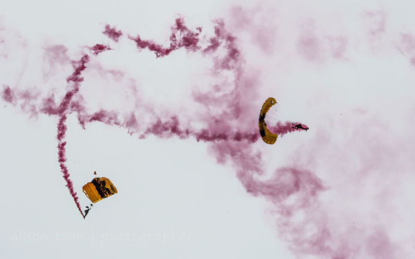US Army Golden Knights CCA 2016 photos