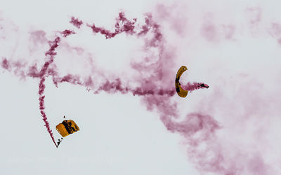 Golden Knights parachute team
