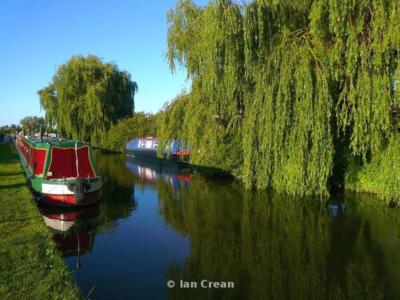 Trent and Mersey Canal at Alrewas, Staffordshire
